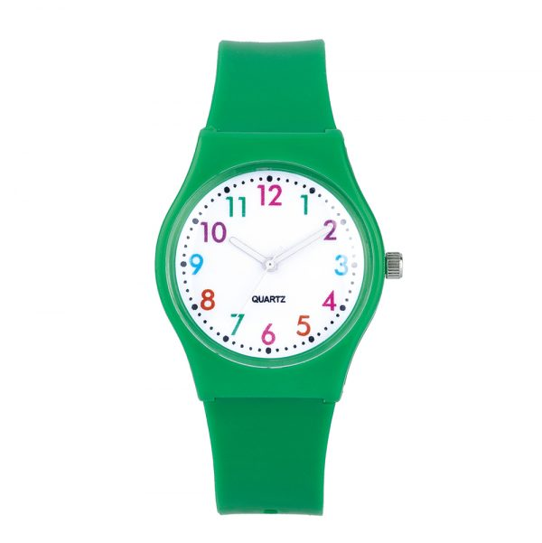 Nice kids watch with number 1-12 simple dial