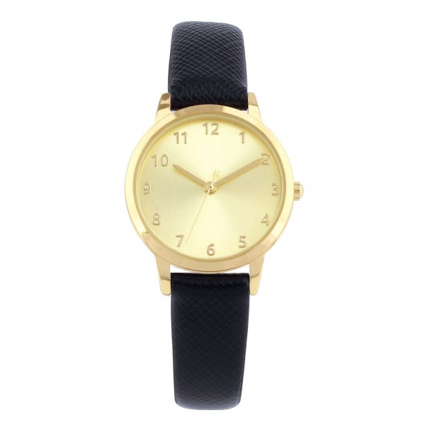 Pulsar lady's quartz PU leather bracelet watch